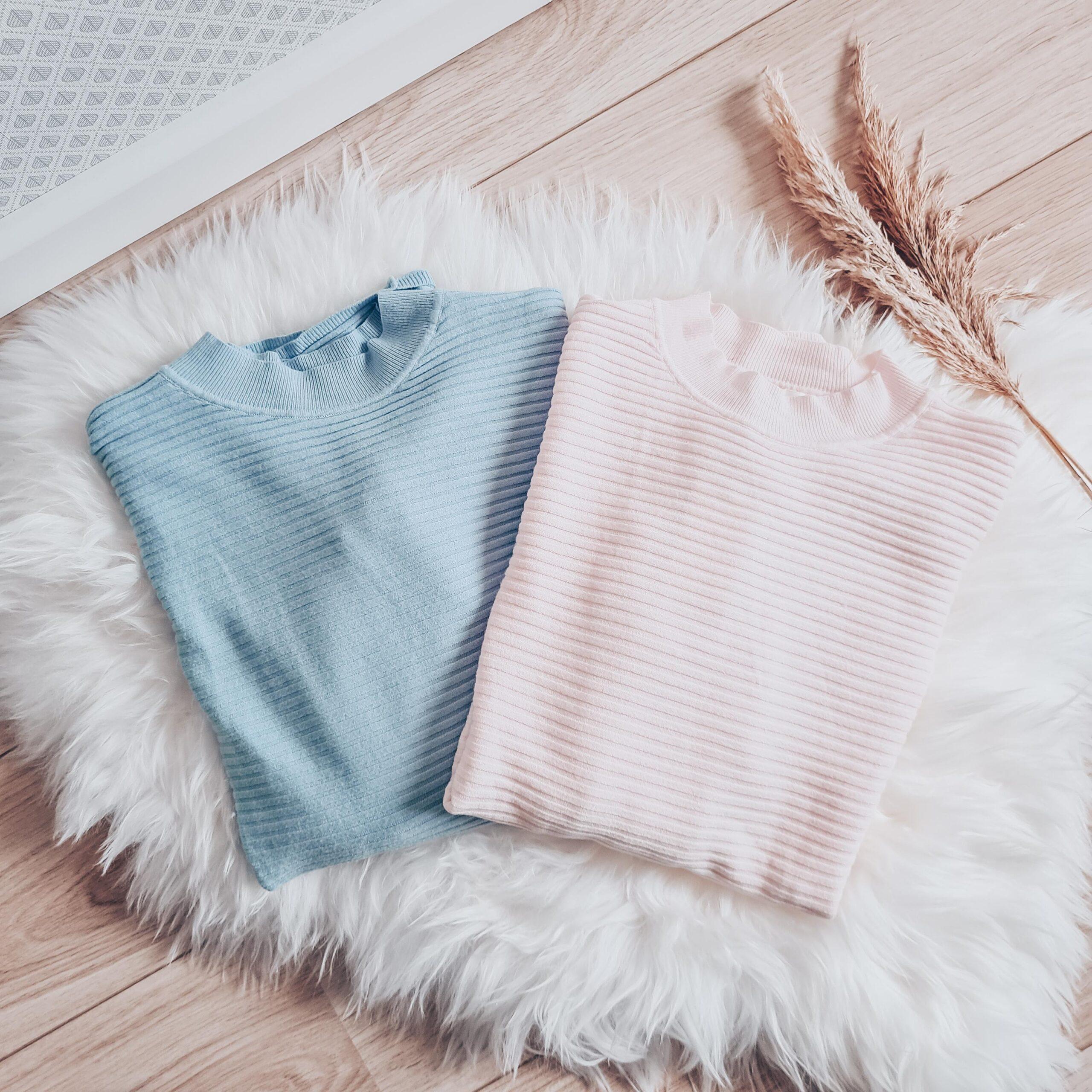Set blauw roze