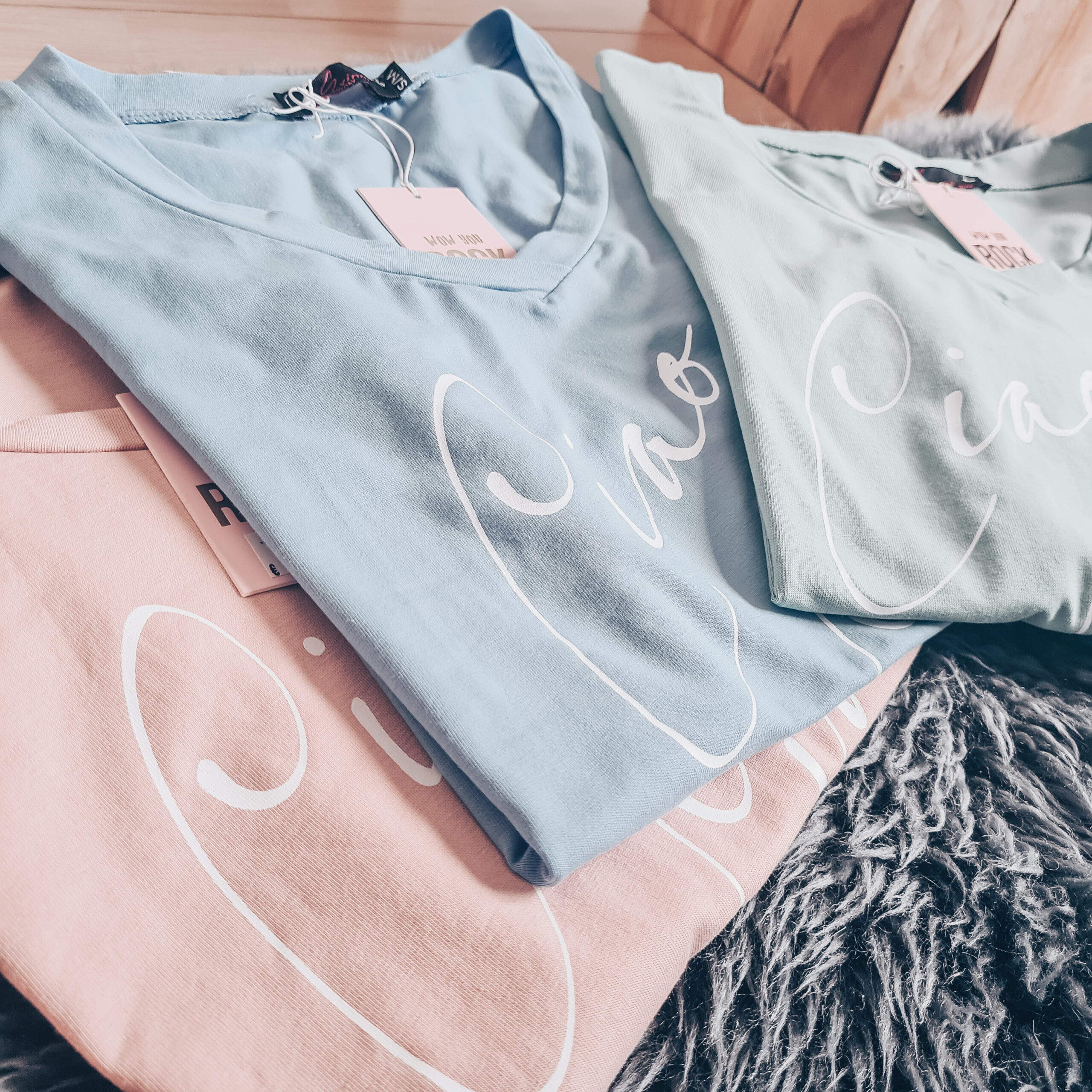 Basic t-shirt ciao ciao set